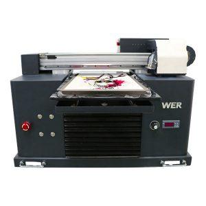 բարձրորակ եւ ցածր գնով էկո վճարունակ flatbed printer տպելու էժան գինը / թվային flatbed T-shirt printer