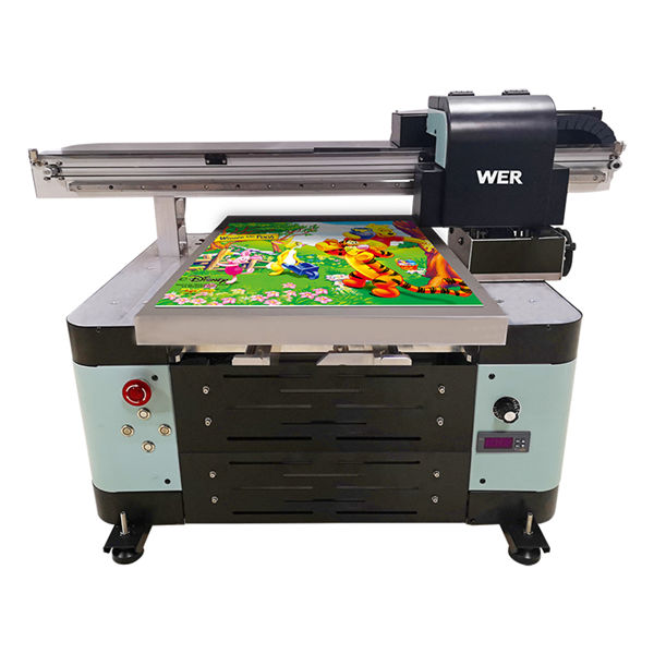 oversea աջակցող թվային մեքենա a2 uv flatbed printer