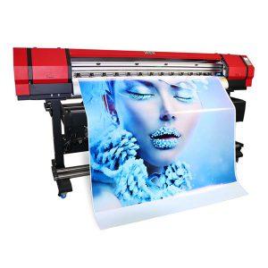 1.6 մ կաշեպատ մեքենա Flex banner flatbed հյուսվածք մեծ ֆորմատով էկո վճարունակ inkjet