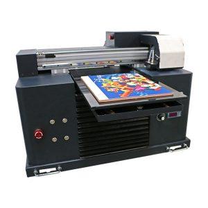 inkjet տպագրական մեքենայի վրա հիմնված flatbed uv տպիչ a3 a4 չափի համար