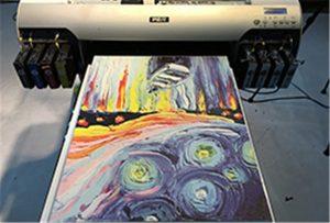 Canvas նմուշ A2 Ուլտրամանուշակագույն տպիչ WER-EH4880UV