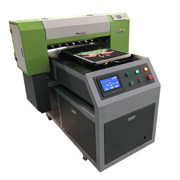 ակրիլային հագուստի տպիչ flatbed տպագրական մեքենա