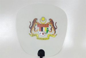Պլաստիկ ժապավենի ընտրանք, որը տպագրվել է A1 չափի տպիչով 6090UV