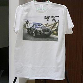 Սպիտակ վերնաշապիկով տպագրված նմուշը, A3- ի T-shirt տպիչով, WER-E2000T 2