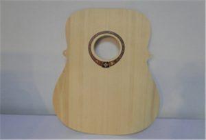 Wood կիթառի նմուշ A2 չափի տպիչի տպիչով WER-DD4290UV